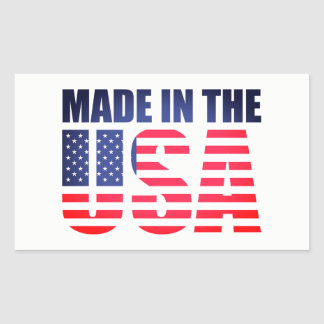 Made In the USA Flag America Pride/Patriot Sticker