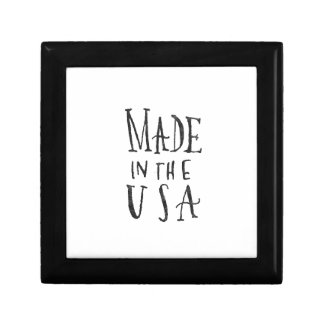 Made in the USA Small Square Gift Box
