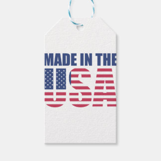 Made In The USA Gift Tags