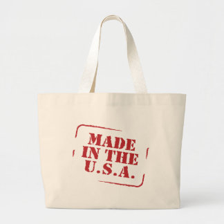 Made In the USA Text Logo Jumbo Tote Bag