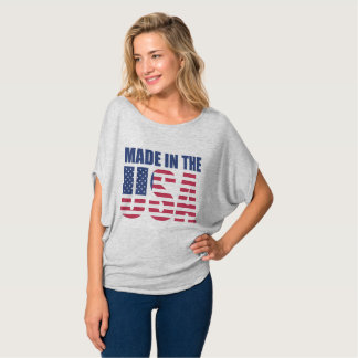 Made in the USA Women's round shirt