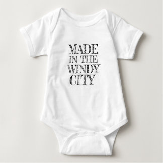 MADE IN THE WINDY CITY BABY BODYSUIT