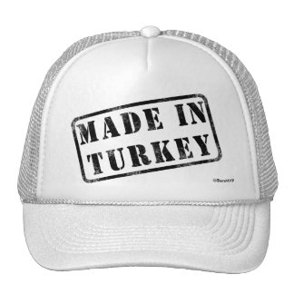 Made in Turkey Mesh Hats