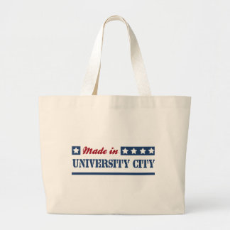 Made in University City Canvas Bag