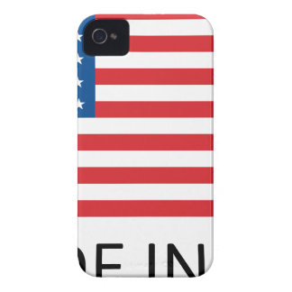 Made In Usa Flag iPhone 4 Cover