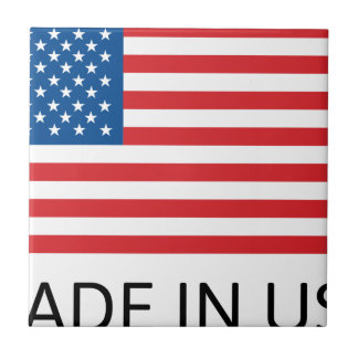 Made In Usa Flag Tile