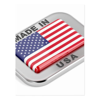 Made in USA Postcard