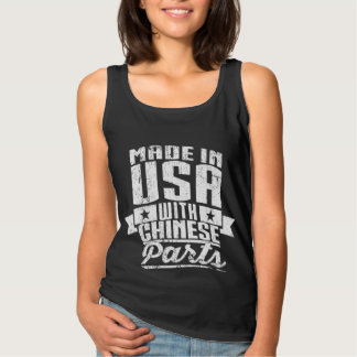 Made In USA With Chinese Parts Singlet