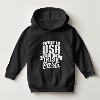 Made In USA With Irish Parts Hoodie