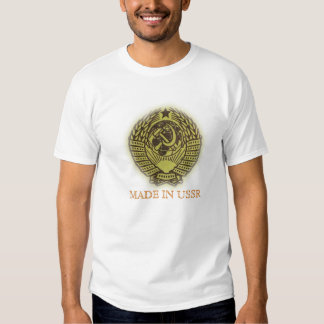 MADE IN USSR TSHIRTS