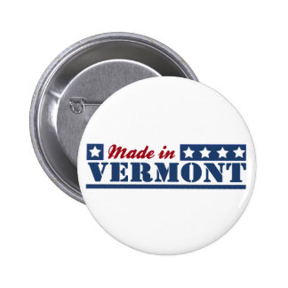 Made In Vermont Buttons