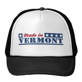 Made In Vermont Hats