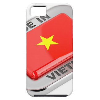 Made in Vietnam shiny badge Case For The iPhone 5