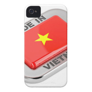 Made in Vietnam shiny badge Case-Mate iPhone 4 Case