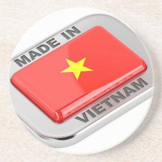 Made in Vietnam shiny badge Coaster