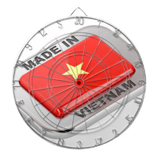 Made in Vietnam shiny badge Dartboard