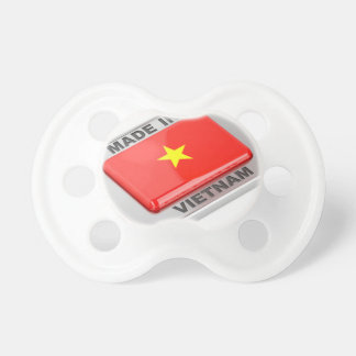Made in Vietnam shiny badge Dummy