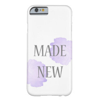 Made New Silver + Purple Barely There iPhone 6 Case