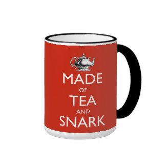 Made of Tea and Snark - 15 oz. Ringer Mug