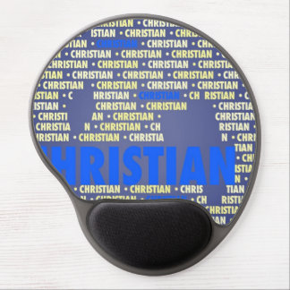 Made of Words CHRISTIAN Gel Mousepad