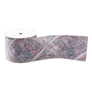made of words,great fellings grosgrain ribbon