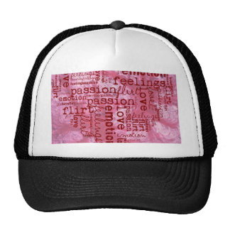 made of words pink hats