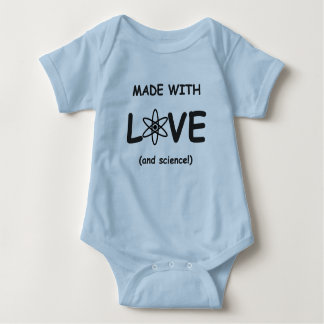 Made With Love (and science) Baby Bodysuit