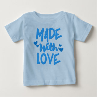 Made with Love Baby Boy T-shirt