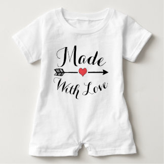 Made with Love Baby Romper Baby Bodysuit