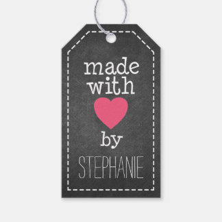Made With Love By You - chalkboard