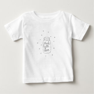 Made with Love Doodle Baby T-Shirt