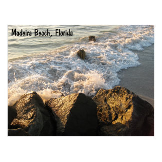 Madeira Beach Shore Postcard
