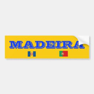 Madeira* Bumper Sticker