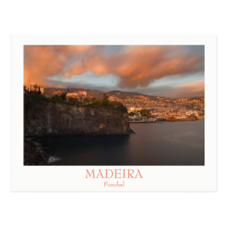 Madeira - City of Funchal postcard with text
