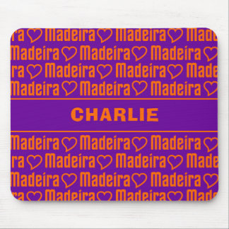 Madeira custom name mousepad