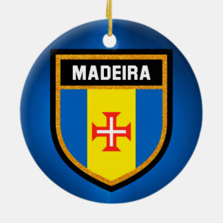 Madeira  Flag Ceramic Ornament