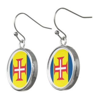 Madeira Flag Earrings