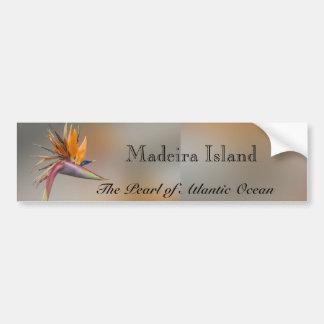 Madeira Island Bumper Sticker