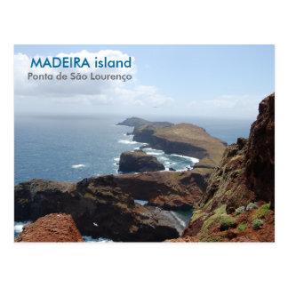 Madeira island, Ponta de São Lourenço Postcard