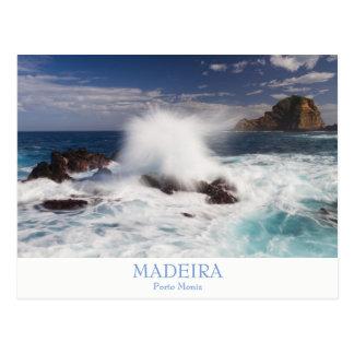 Madeira - Porto Moniz postcard with text