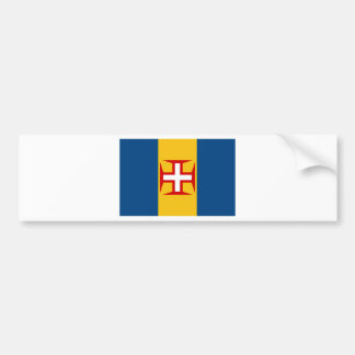 Madeira (Portugal) Flag Bumper Sticker