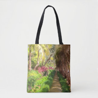 Madeira Sidewalk Tote Bag