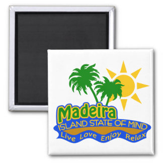 Madeira State of Mind magnet