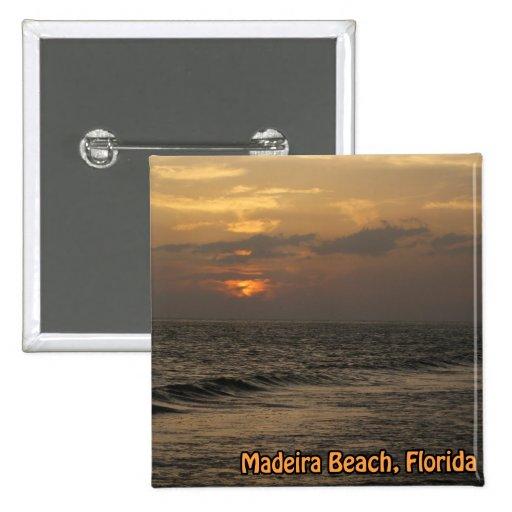 Madeira Sunset Button