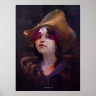 Madeleine de Verchères Poster