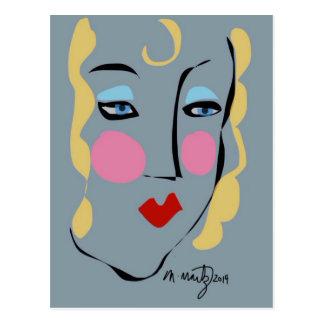 Madeleine Was Mad For Matisse Postcard