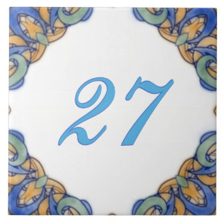 Madeline Big House Number Tile