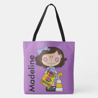 Madeline Loves Crayons Tote Bag