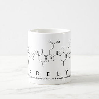 Madelyn peptide name mug