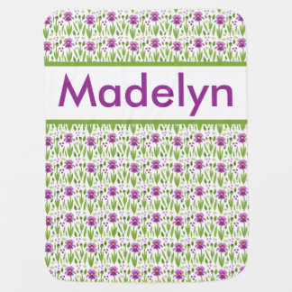 Madelyn's Personalized Iris Blanket
